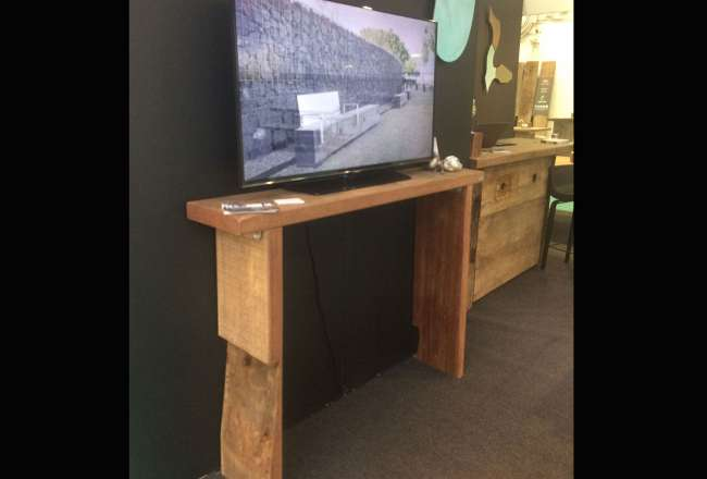 Konsolbord med TV | Thors Design